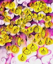 """""""Ho un'idea!""""- illustration for the book """"pensare confonde le idee""""- by Bruno Munari"""
