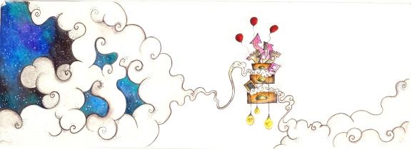 """""""il viaggio"""", for the book """"pensare confonde le idee"""" by Bruno munari"""