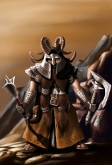 Mountain Warrior Dwarf